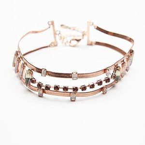 {free people} mania stacked choker
